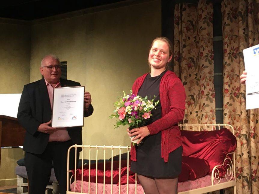 1. Platz Konrad-Hansen-Preis 2021